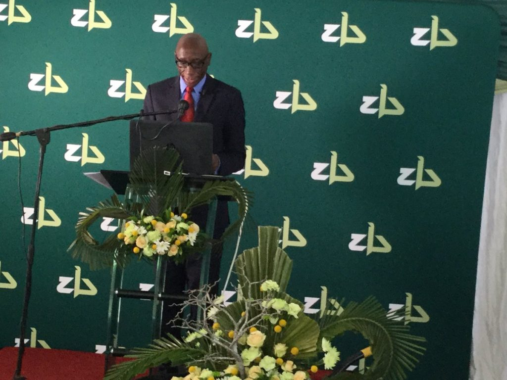 ZB Bank Group Chief Executive Officer Ron Mutandagayi